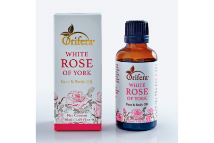 White Rose of York Face and Body Oil